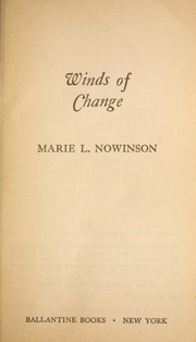 Cover of: Winds of Change | Marie Nowinson