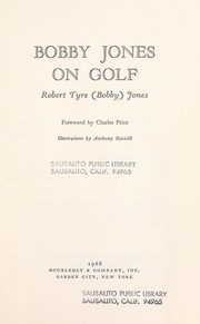 Cover of: Bobby Jones on golf. | Bobby Jones