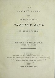Cover of: The cabinet-maker and upholsterer's drawing-book