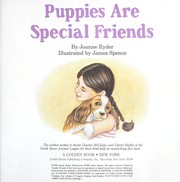 Cover of: Puppies Are Special Friends