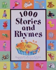 Cover of: 1000 stories and rhymes |