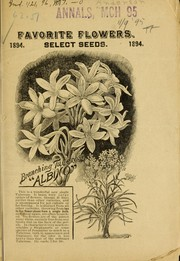 Cover of: Favorite flowers