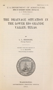 Cover of: Drainage situation in the Lower Rio Grande Valley, Texas