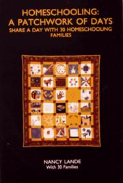 Cover of: Homeschooling: A Patchwork of Days