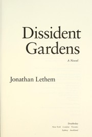 Cover of: Dissident gardens