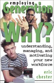 Cover of: Employing Generation Why