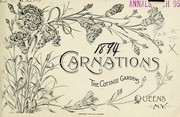 Cover of: Carnations | Cottage Gardens