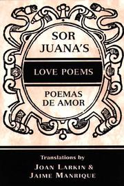 Cover of: Sor Juana's love poems