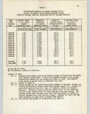 Cover of: Statistical analysis of the annual average F.O.B. prices of Pacific Coast canned bartlett pears, 1926-27 to 1948-49