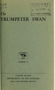 The trumpeter swan by Winston E. Banko