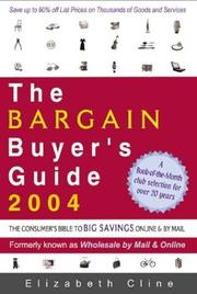 Cover of: The Bargain Buyer's Guide 2004 by Elizabeth Cline