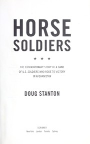 The Horse Soldiers by Doug Stanton