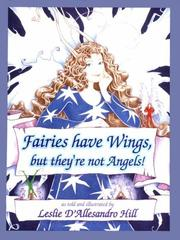 Cover of: Fairies have wings, but they're not angels!