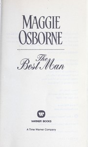 Cover of: The best man | Maggie Osborne