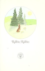 Cover of: Rabbits, rabbits