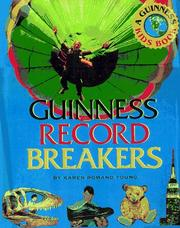 Cover of: Guinness Record Breakers