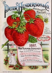 Cover of: Mid-summer catalogue for summer planting | Peter Henderson & Co