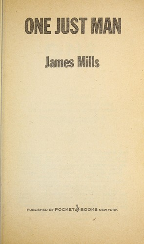 1 Just Man by James mills