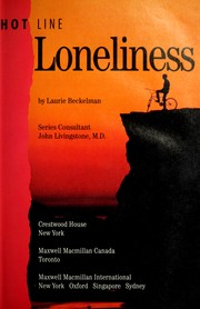 Cover of: Loneliness