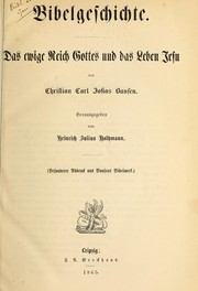 Cover of: Bibelgeschichte