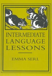 Cover of: Intermediate Language Lessons | Emma Serl