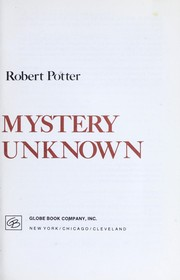 Cover of: Tales of Mystery and the Unknown