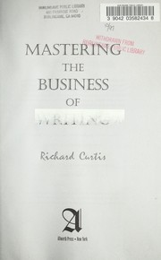 Cover of: Mastering the business of writing