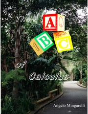 Cover of: The ABC's of Calculus |