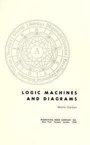 Cover of: Logic machines and diagrams. | Martin Gardner