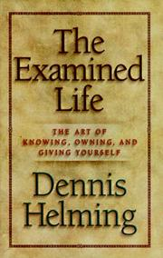 Cover of: The examined life