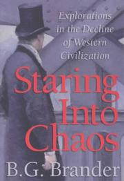 Cover of: Staring into chaos