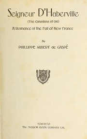 Cover of: Seigneur d
