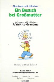 Cover of: Ein Besuch bei Grossmutter = A visit to grandma |