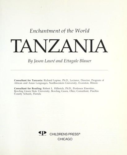 Tanzania by Jason Lauré