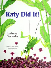 Cover of: Katy did it!