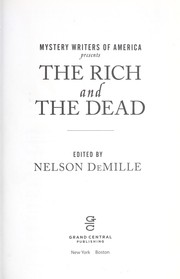 Cover of: Mystery Writers of America presents the rich and the dead