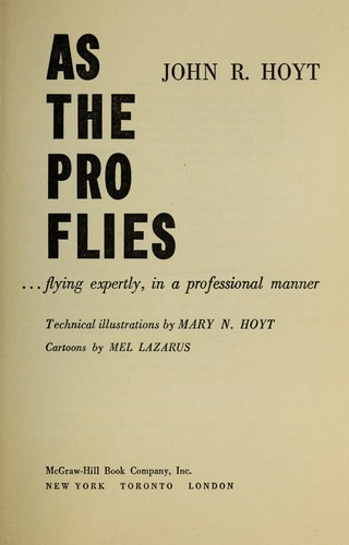 As the pro flies; by