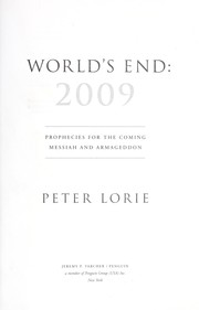 Cover of: World's end, 2009