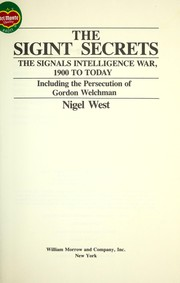 Cover of: The SIGINT secrets