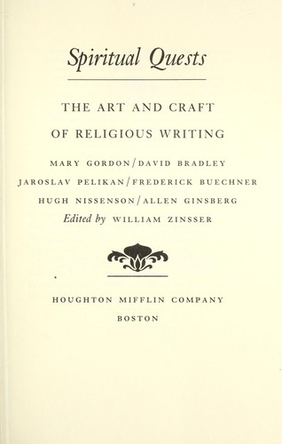 Spiritual quests : the art and craft of religious writing by