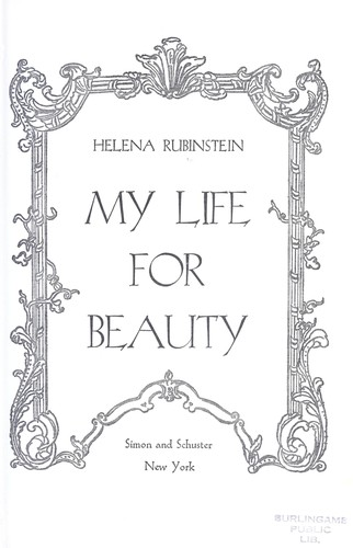 My life for beauty by