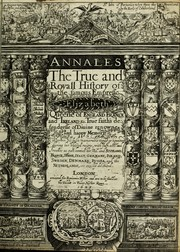 Cover of: Annales