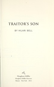 Cover of: Traitor's son