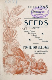 Cover of: Catalogue of seeds