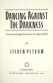 Cover of: Dancing against the darkness