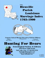 Cover of: Bienville Parish Louisiana Marriage Index 1849-1900