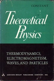 Cover of: Theoretical physics | Frank Woodbridge Constant