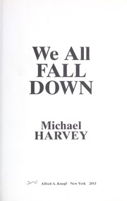 Cover of: We all fall down