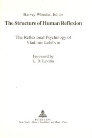 Cover of: The Structure of human reflexion |