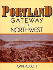 Cover of: Portland, Gateway to the Northwest